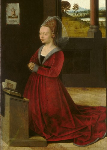 Portrait of a Female Donor - P. Christus