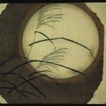 Wind Blown Grass Across the Moon - Utagawa Hiroshige