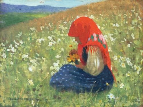 Girl of the Tatra - Marianne Stokes