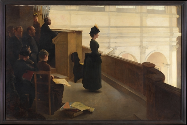 The Organ Rehearsal - Henri Lerolle