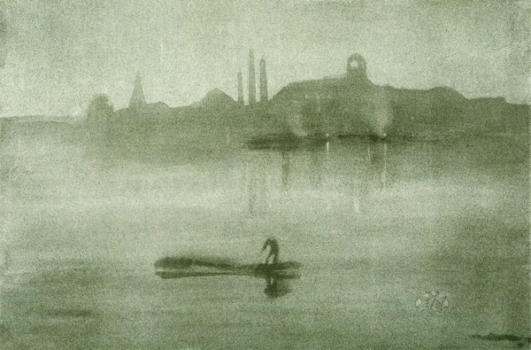 Nocturne: The River at Battersea - Whistler