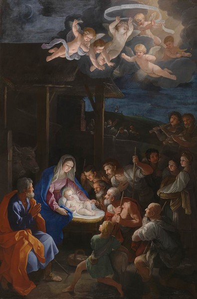 The Adoration of the Shepherds - Guido Reni