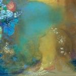 Ophelie au milieu des fleurs-Odile Redon