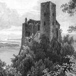 Das Schloss Greifenstein auf der Donau. Vesta. Taschenbuch für das Jahr 1835