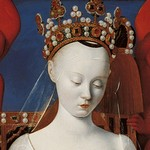 Jean Fouquet - Virgin and Child (Melun diptych)