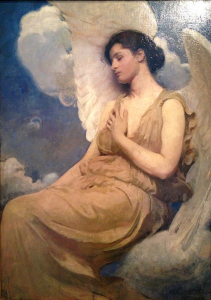 Sleeping Angel. Abbot Thayer