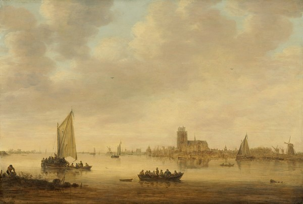 View of Dordrecht from the Dordtse Kil - Jan van Goyen