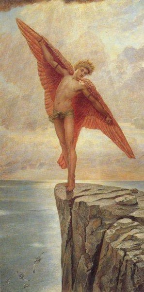 Icarus - William Blake Richmond