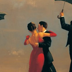 The Singing Butler - Jack Vettriano