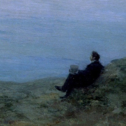 Aleksandr Pushkin at the Seashore. Leonid Osipovic Pasternak