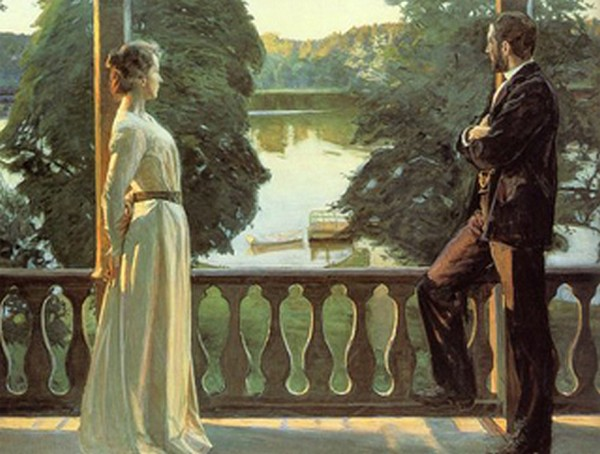 Nordic Summer Evening - Richard Bergh