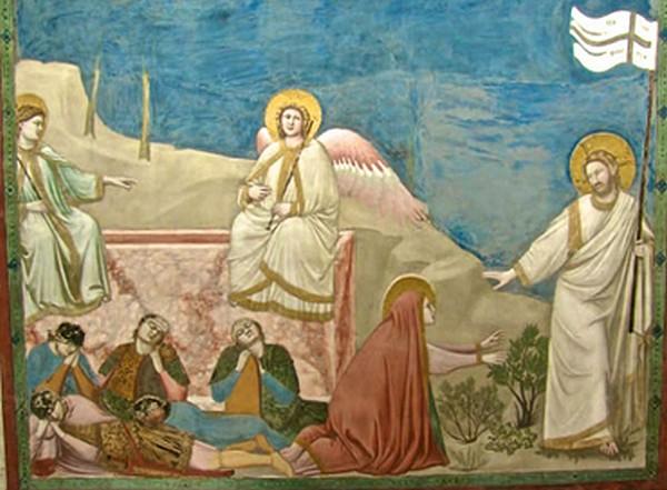 Resurrezione - Giotto