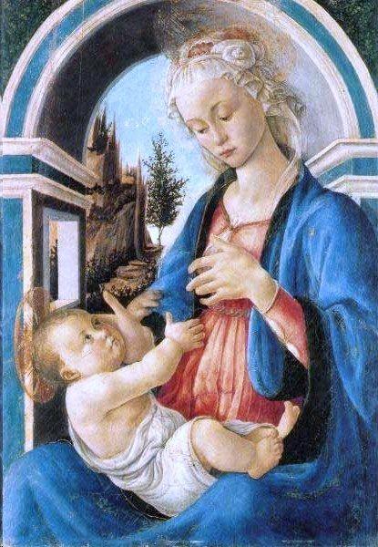 Mare de Déu amb Nen - S. Botticelli