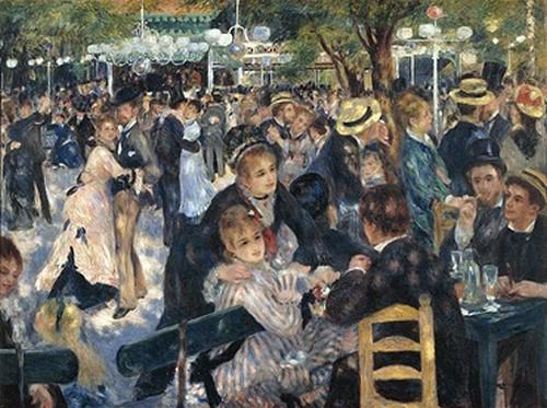 Bal du moulin de la Galette - A. Renoir
