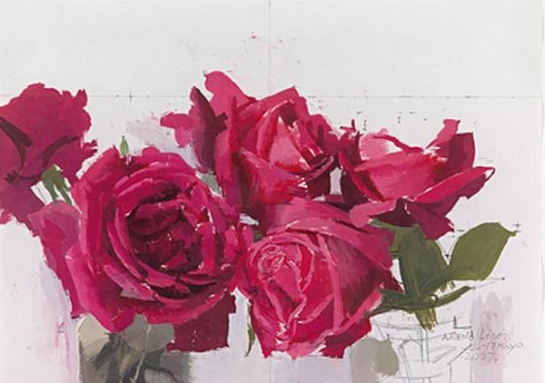 Rosas rosas - Antonio López