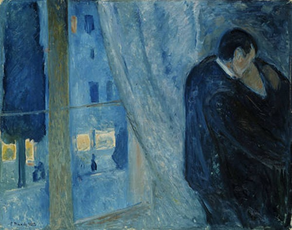 kiss by the window - Munch