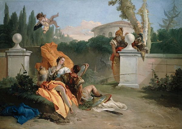 Armida e Rinaldo nel giardino - Tiepolo