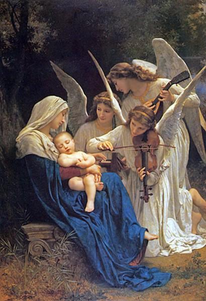 El cant dels àngels - W.A. Bouguereau