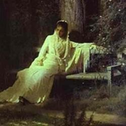 Moonlit night - Iván Kramskoi