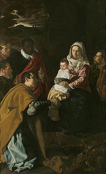 Adoración de los Reyes - D. Velázquez