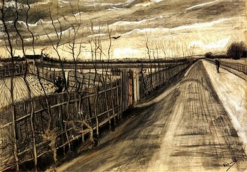 country road - van Gogh