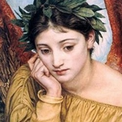 Érato, musa de la poesia - E. Poynter