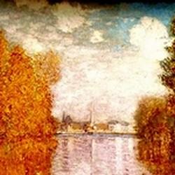Effet d'automne à Argenteuil - Monet