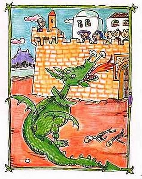 Petita història de Sant Jordi - Pilarín Bayès
