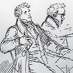 Schubert at the Piano with the Singer Michael Vogl - Moritz von Schwind, 1825.