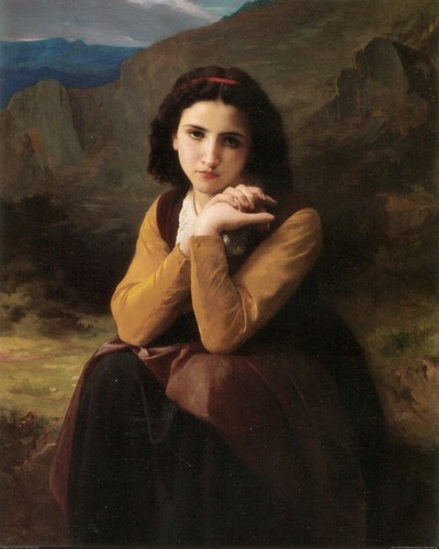 Mignon - William Adolphe Bouguereau