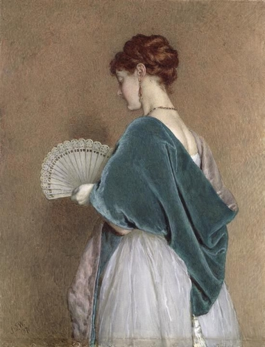 John Dawson Watson, Lady with a fan
