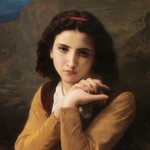 Mignon - William Wdolphe Bouguereau