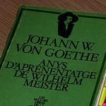 Anys d'aprenentatge de Wilhelm Meister