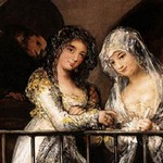 Majas al balcón - Francisco de Goya