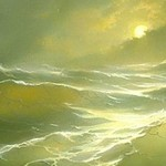 Moon & Sea - Hovhannes Aivazovsky