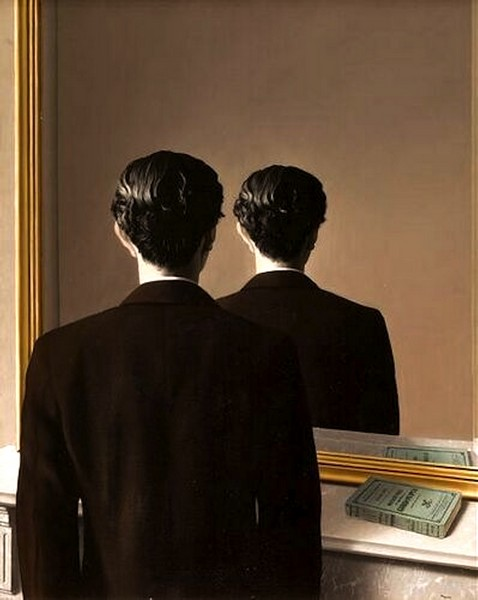 Not to be reproduced - R. Magritte