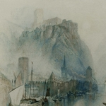 Burgen am Rhein - William Turner
