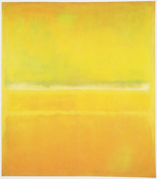 Yellow Green - Mark Rothko