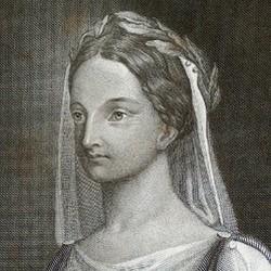 Portrait Elisabeht Kulmann - Carl Barth