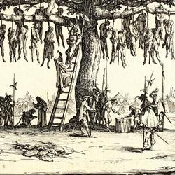 Les grandes misères de la guerre - L'arbre aux pendus (1633)