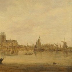 View of Dordrecht from the Dordtse Kil - Jan van Goyen