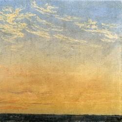 Abend - Caspar David Friedrich