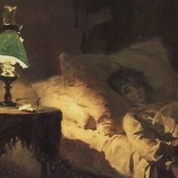 The ill woman - Vasily Polenov