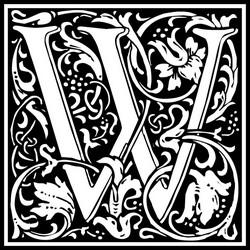 William Morris' alphabet