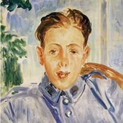 Portrait de Francis Poulenc (1920)- Jacques-Émile Blanche