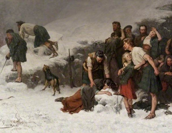 The massacre of Glencoe - James Hamilton