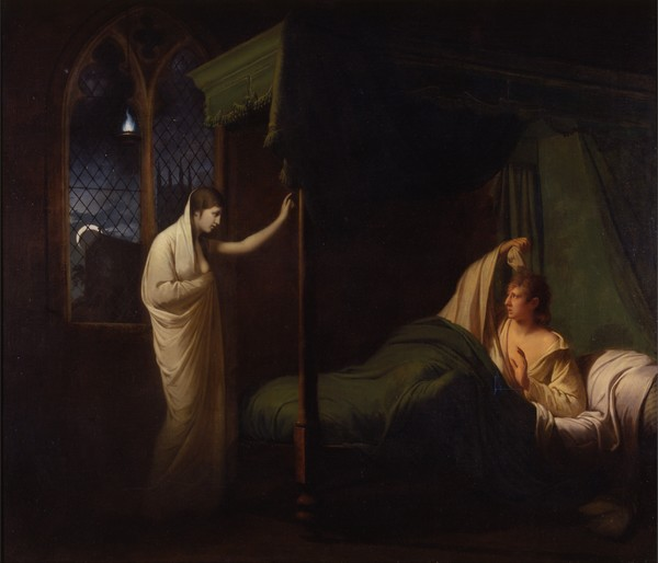 William and Margaret from Percy's 'Reliques of Ancient English Poetry' - Joseph Wright of Derby