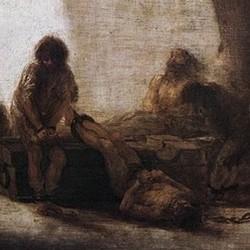 Escena de prisión - F. de Goya