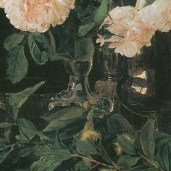 Rosenstillleben - Ferdinand Georg Waldmüller