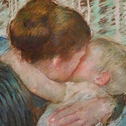 Mother and child (The Goodnight Hug) - Mary Cassatt